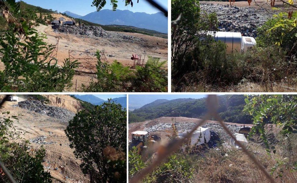 Θεσπρωτία: Απελπιστικές εικόνες στο ΧΥΤΑ Καρβουναρίου