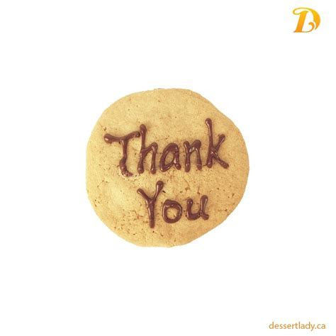 Thank You Cookies   Dessert Lady