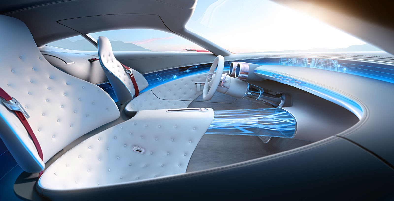 Vision Mercedes-Maybach 6 is a six-meter-long electric ...
