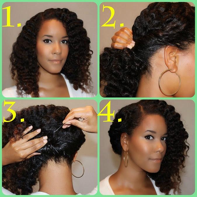 acconciature facili per capelli ricci - 24 idee per un