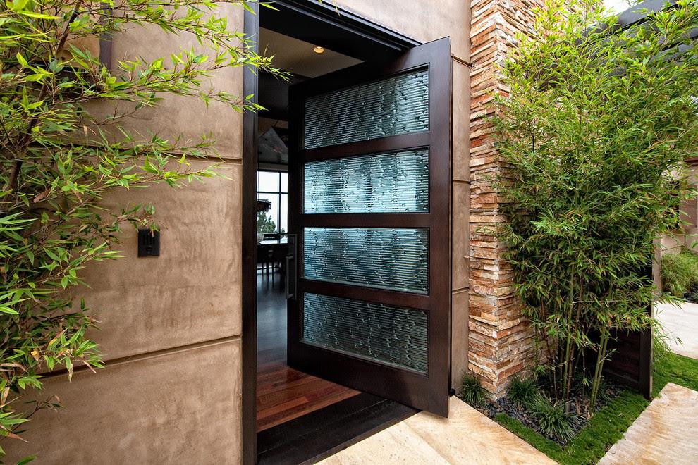 contemporary front door design ideas  | Craftsman Front Door Ideas