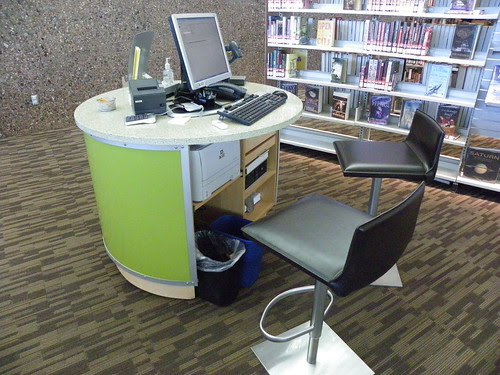 View of information pod - Appaloosa Library