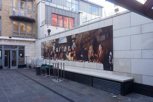Dublin Street Art - The Last Supper by infomatique