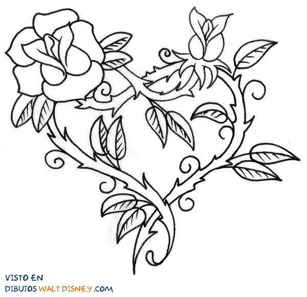 Dibujo Corazon Con Alas