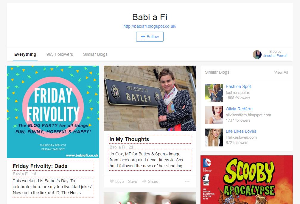 Babi a Fi on Bloglovin