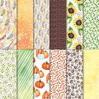 Painted Autumn Designer Series Paper