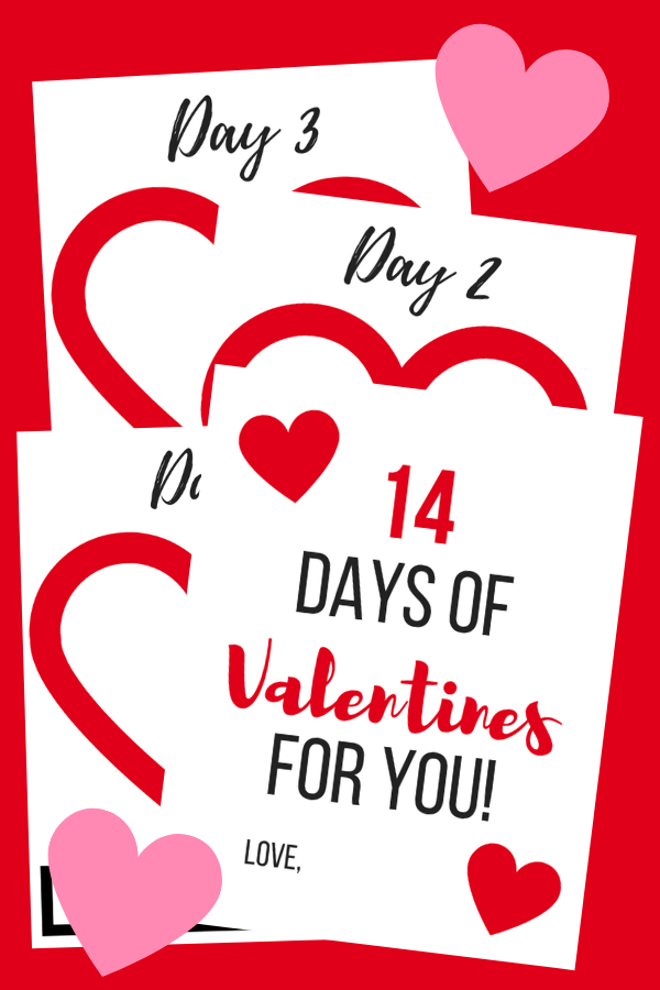 14 Days Of Valentines Gift The Little Frugal House