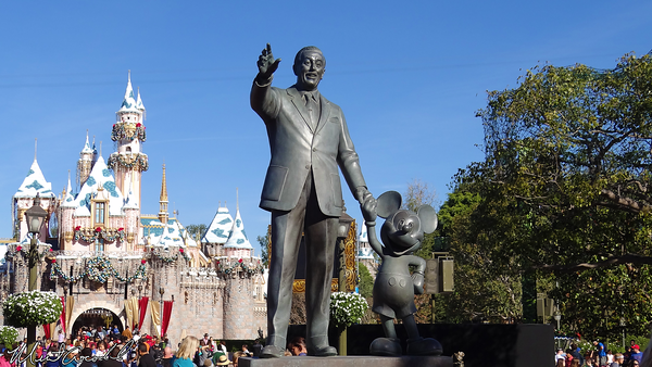 Disneyland Resort, Disneyland, Partners, Statue
