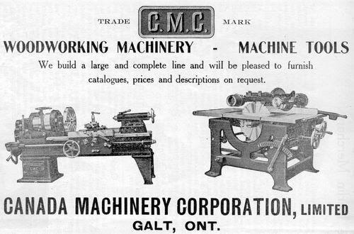 Canada Machinery Cor