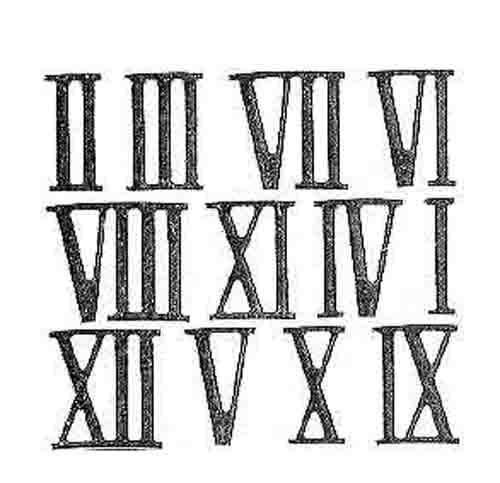 Números Romanos 1 A 3000 Escuelapedia Recursos Educativos
