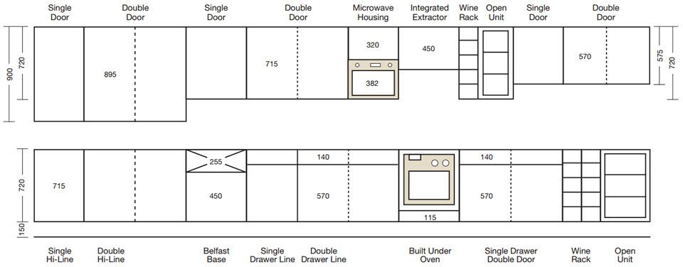 Cabinet Sizes - Blok Designs Ltd