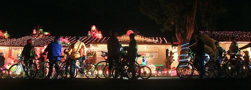 christmas lights ride 2010