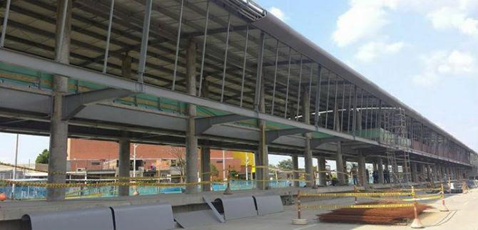 Terminal Calipso Julio Rincón llega al 87 %, a un mes de finalizar las obras
