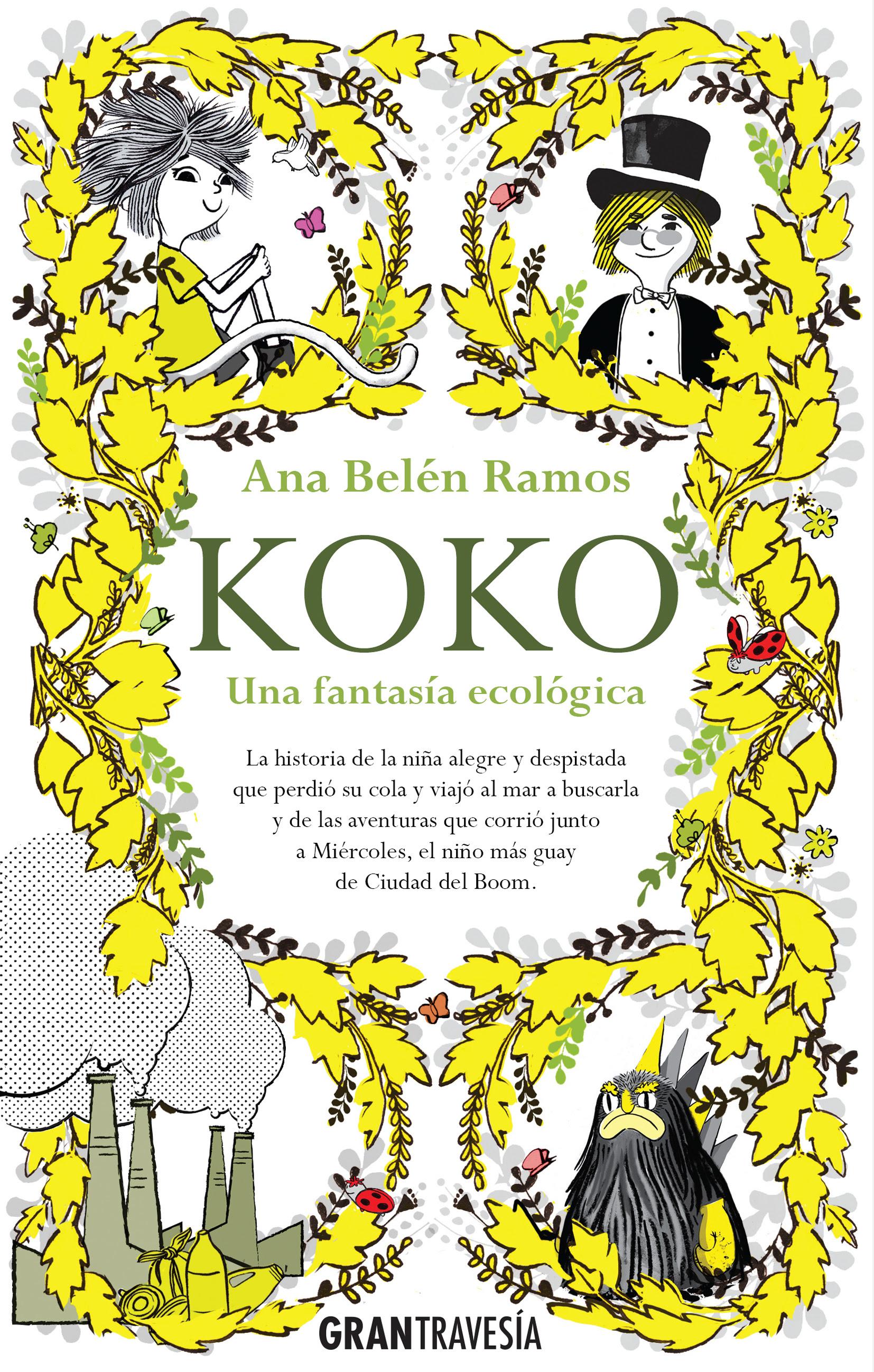 Resultado de imagen de portada de koko. una aventura ecologica