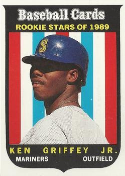 1989 Baseball Card Magazine '59 Topps Replicas #63 Ken Griffey Jr. Front
