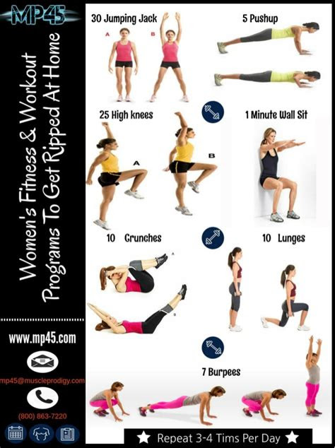 womens fitness workout programs   ripped  home