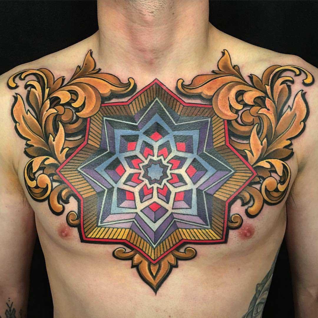 Men Chest Tattoo Best Tattoo Ideas Gallery