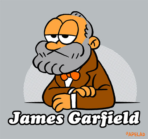James Garfield by Ape Lad