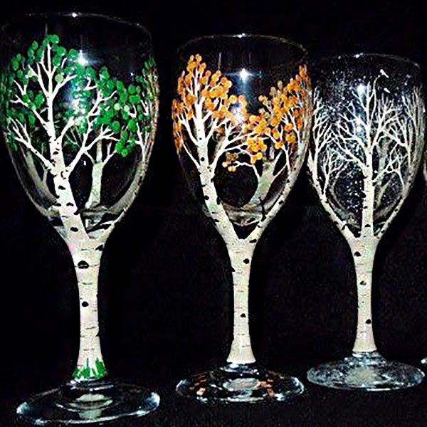 Paint Sip Paint Your Own Wine Glasses Manchester Vermont