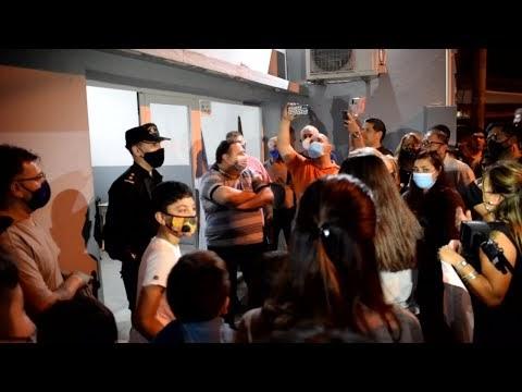 Vecinos protestaron: Cansados de las balaceras en Pueblo Nuevo y Extorsiones