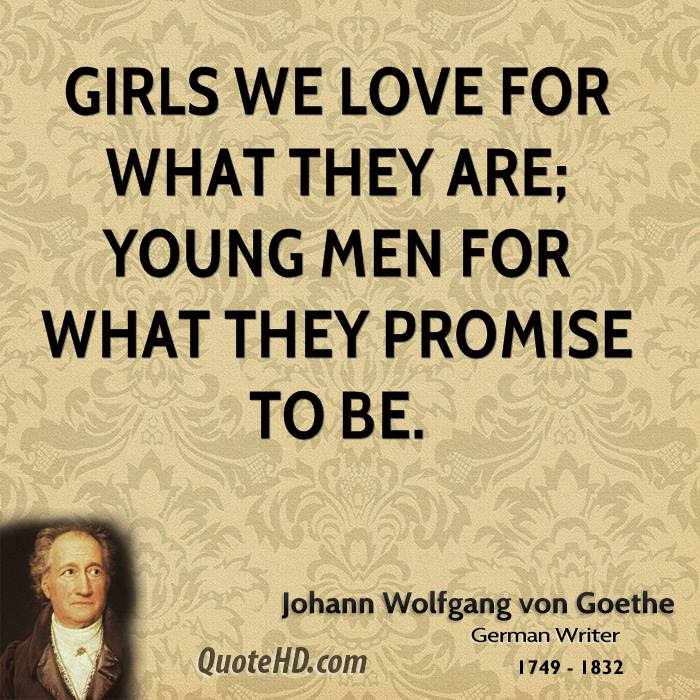 Johann Wolfgang Von Goethe Men Quotes Quotehd