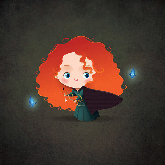 Kawaii Merida - Brave