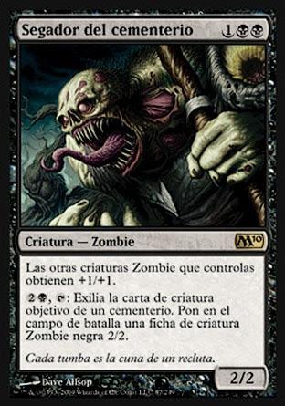 Segador del cementerio