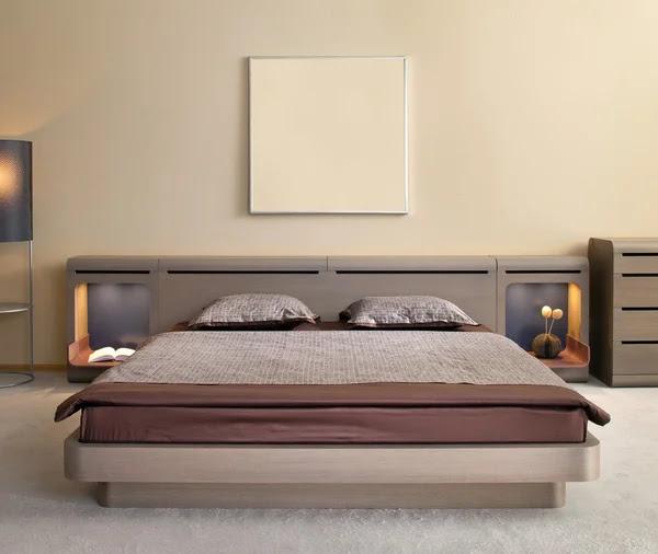 Elegant and luxury bedroom interior. Stock Photo © A