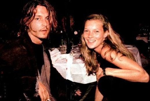 LE FASHION BLOG JOHNNY DEPP KATE MOSS JOHNNY AND KATE INSPIRATION SMILE 90S MINIMAL BLACK DRESS WATCH 16
