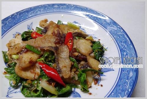 XO醬乾炒草魚片11