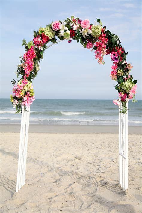 Wedding Flowers: wedding arbor flowers