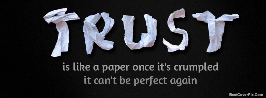 Trust Quote Facebook Timeline Covers