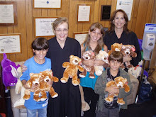 Bear Ambassadors confer with Justices