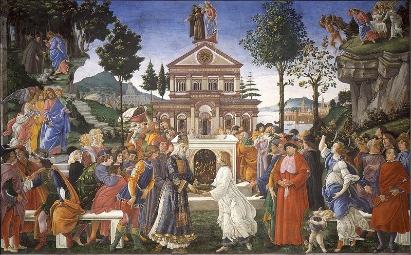 Fil: 05 Tentaciones de Cristo (Botticelli) jpg.