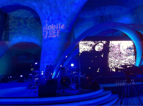 Exhalation trailer playing at Mobile SIFF award ceremony