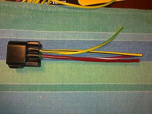 Suzuki Starter Relay solenoid CONNECTOR PLUG TL1000 GSXR ...
