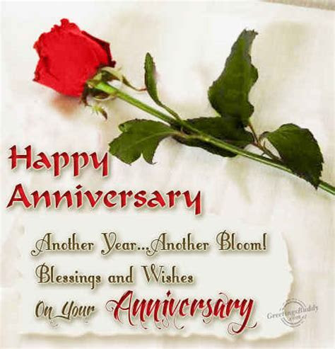 Wishing You On Your Anniversary   GreetingsBuddy.com