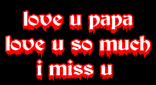 Love U Papa Love U So Much I Miss U Logo Free Logo Maker