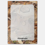 Personalize: Abstract Nature Photo Autumn Leaves Post-it® Notes
