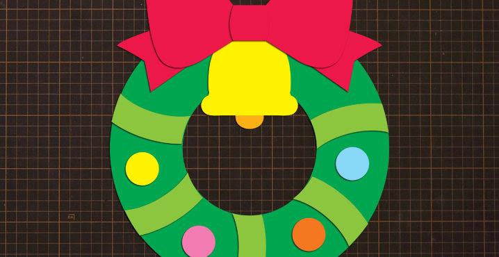 壁面飾り型紙工房保育園幼稚園学校介護施設デイ