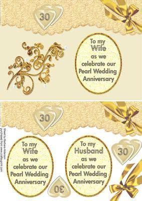 Husband/wife Pearl Wedding Anniversary   CUP65346 478