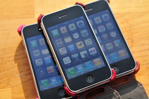 iPhones galore