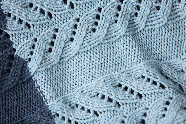 Pemberley Blanket - Free Knitting Pattern