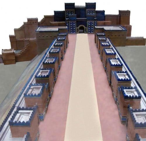 Model of the Ishtar Gate