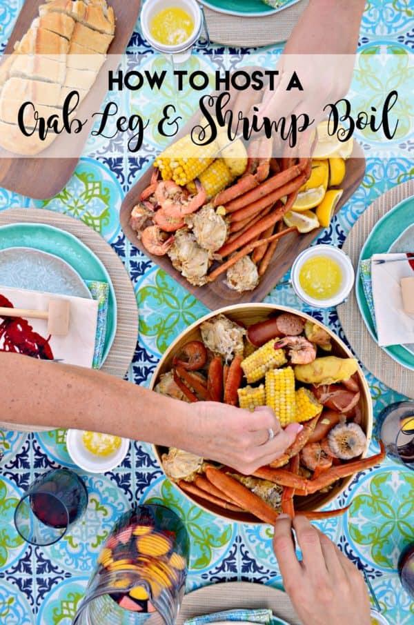 Crab Leg Shrimp Boil Katies Cucina