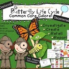 Butterfly Life Cycle Uncovered! Literacy & Math Activities