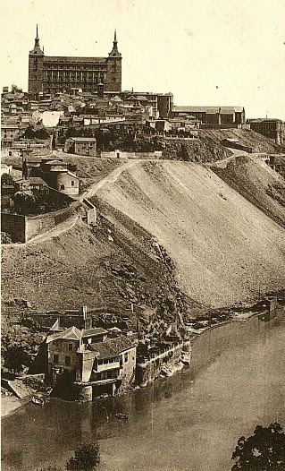 Casa del diamantista a principios del siglo XX. Foto Arribas