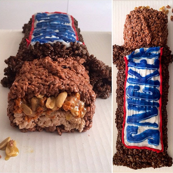 Incredibly Creative Art with Rice Krispies