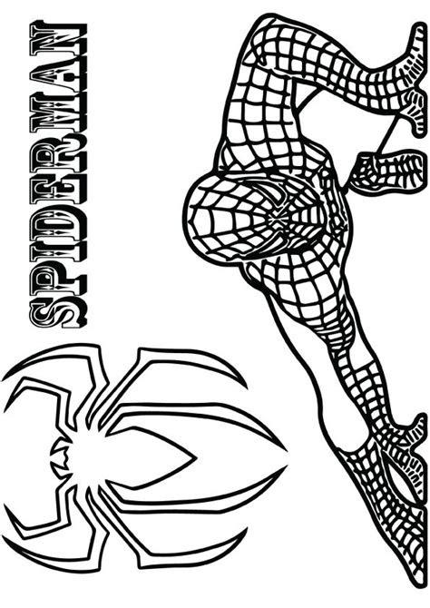 printable spiderman coloring pages spiderman
