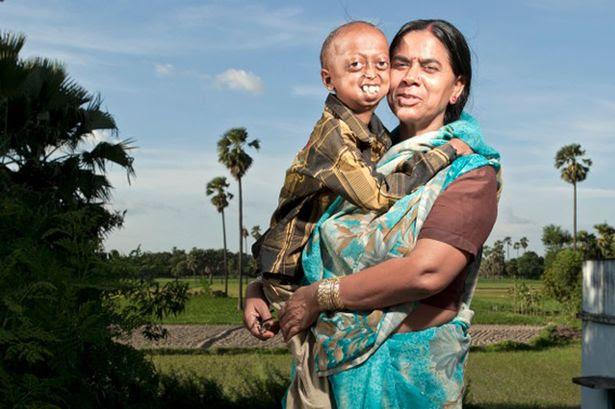 Ali Hussain with mum Razia